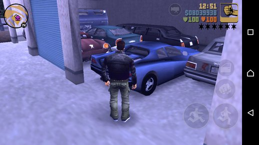 GTA 3 Android Save 100% All Uniqe Vehicles