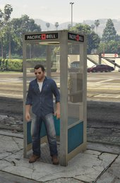 Real Phone Box / Echte Telefonzellen