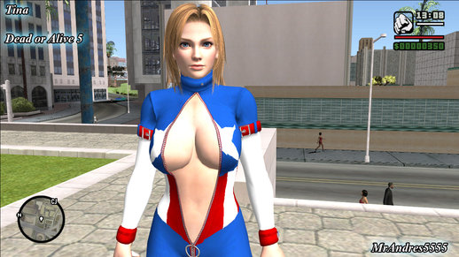 Tina Americana From Dead or Alive 5