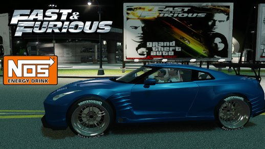 Nissan GTR Fast and Furious Movie car