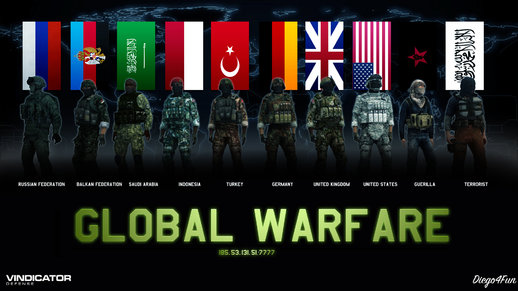 Global Warfare Skins Pack