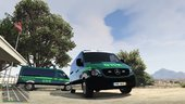 Portuguese National Republican Guard - Intervention Van - Mercedes Sprinter [Replace]  V1.1