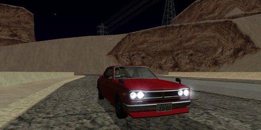 GTA San Andreas Nissan Skyline 2000 GT-R + no txd version GTA SA Android Mod - GTAinside.com