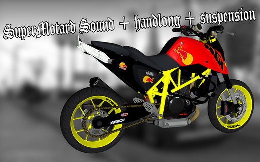 SuperMotard Sound + Handling + Suspension
