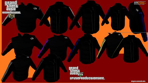 The North Face Body Warmers + Adidas Vests (All Characters)  V2.0