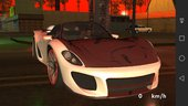 GTA V PFISTER 811 NO TXD FOR MOBILE