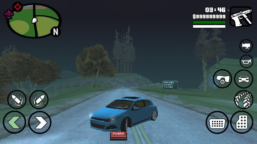 Volkswagen Scirrocco for Android Only Dff