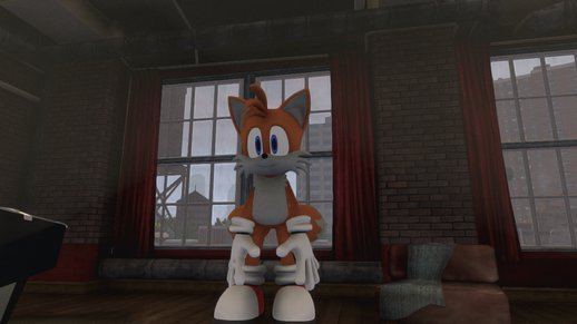 HD Modern Tails the Fox
