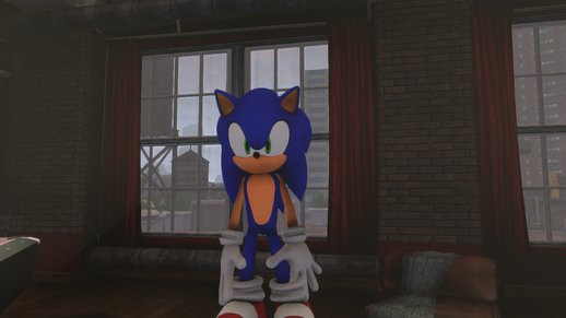 HD Modern Sonic the Hedgehog