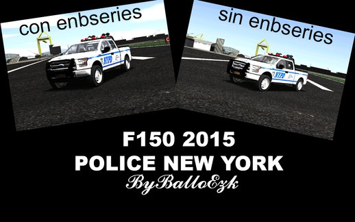Ford F150 Police New York