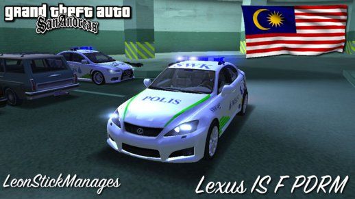 Lexus IS F PDRM