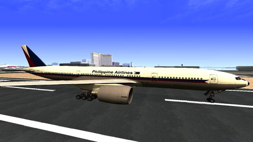 Philippine Airlines 777-200LR Retro Livery