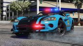 Dodge Viper SRT-10 ACR | Hot Pursuit Police [Add-on / Replace | Template]