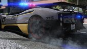 Pagani Zonda Tricolore | Hot Pursuit Police [Add-on / Replace | Template]