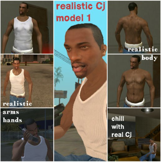 Realistic Cj player.img model_1 for Android