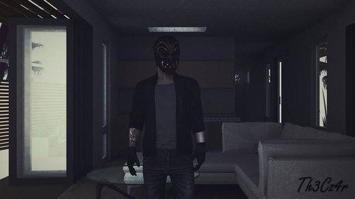 Bodhi With Mask Payday 2