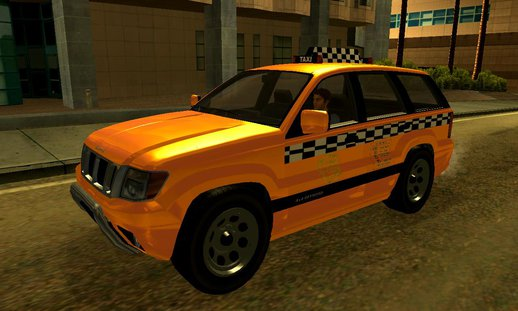 GTA V Canis Seminole Taxi (Saints Row Style)