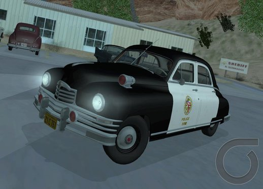 Packard Standart Eight 1948 Touring Sedan Lapd