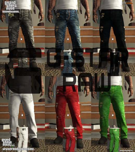 G-Star Raw BaggyJeans Pack V1.8 HD/HQ