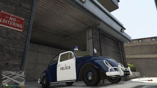 Portuguese Public Security Police - Volkswagen Beetle 1962 [Add-On dlclist] v2.0