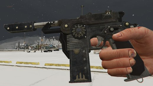 Mauser C96 (From Black Ops 2: Origins)
