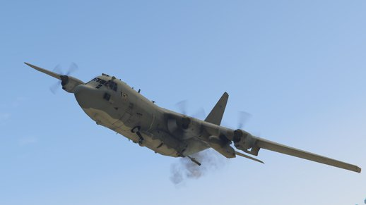 AC-130U Spooky II Gunship [Add-On/Working cannons]