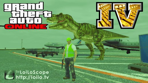 T REX MOD + AIRPORT + Docks TDM MODS