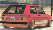 Volkswagen Golf MK1 (Stock & Camber) [replace & add-on]