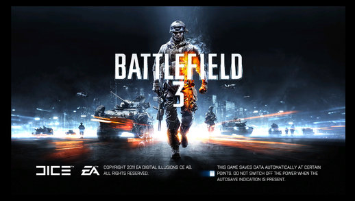 Loadscreen Battlefield 3