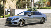 Mercedes-Benz S63 W222 LWB [Add-On / Replace]