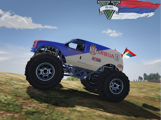 Monstertruck Serbian / Monsterdzip Srbija [skin]