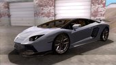 Lamborghini Aventador LP700-4 LB Walk with no fenders