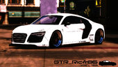 2013 Audi R8 V10 Plus 5.2 FSi Coupe Liberty Walk LB Performance Kit Itasha [Add-On / Replace]