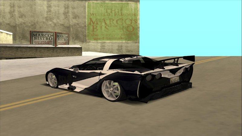 Gta San Andreas Need For Speed Carbon Cross S Corvette Mod