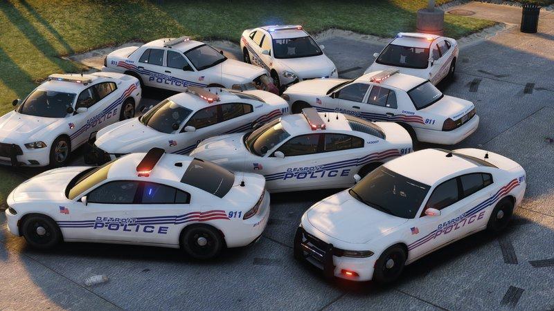 GTA 5 Detroit Police Pack [Liveries] Mod - GTAinside com