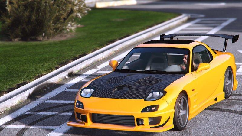 GTA 5 Mazda RX7 FD3S [Add-On | Tuning] Mod - GTAinside com