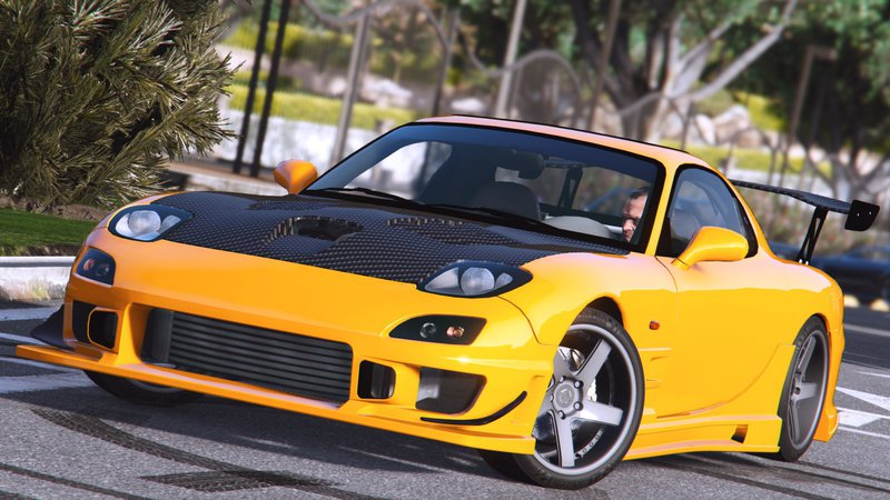 gta 5 mazda rx7 fd3s add on tuning mod. Black Bedroom Furniture Sets. Home Design Ideas