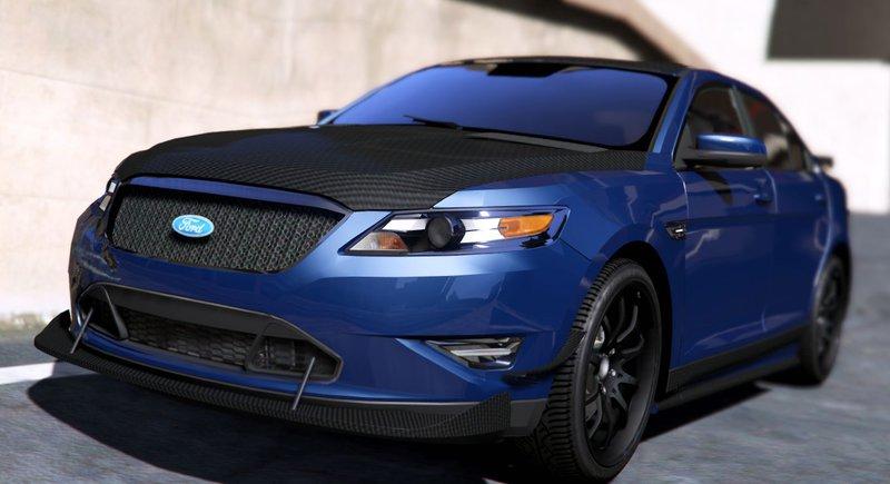 2016 Ford Taurus Sho >> GTA 5 Ford Taurus SHO 2010 [TuninglWipers] Mod - GTAinside.com