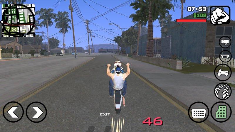 GTA San Andreas Thai Ninja Bike For Android Dff Only Mod - GTAinside com