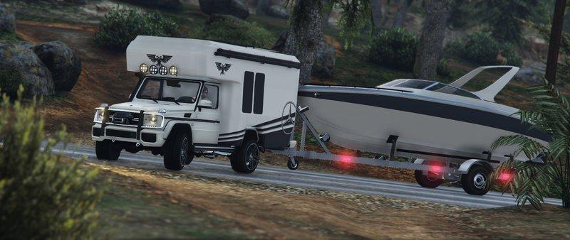 gta 5 mercedes benz g wagon camper mod. Black Bedroom Furniture Sets. Home Design Ideas