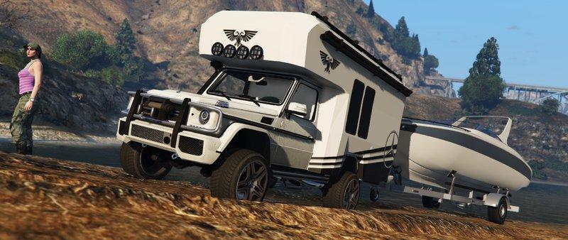 Gta 5 Mercedes Benz G Wagon Camper Mod Gtainside Com