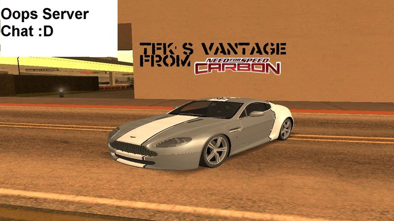 Gta San Andreas Need For Speed Carbon Tfk S Vantage Not Db9 Mod Gtainside Com