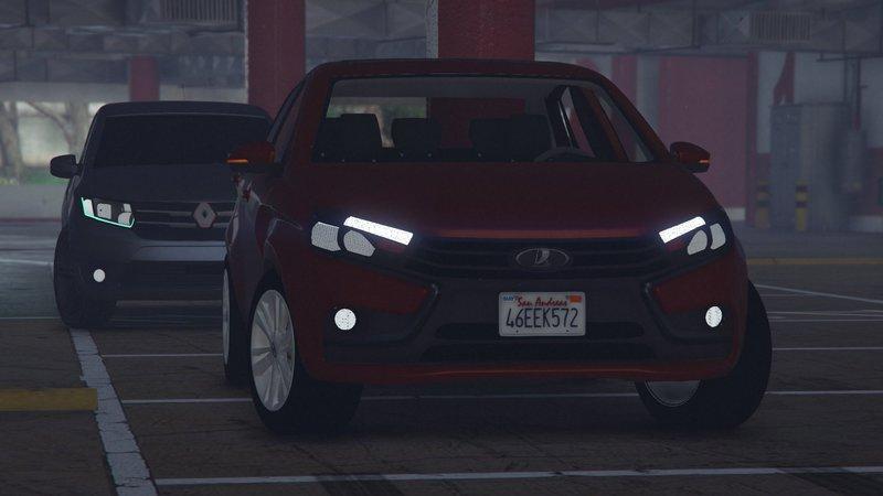 GTA 5 2015 Lada Vesta Mod - GTAinside com