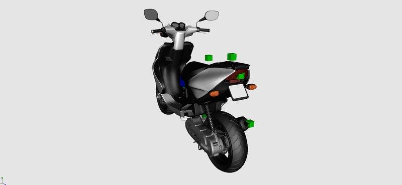 GTA San Andreas Yamaha Aerox Mod - GTAinside com