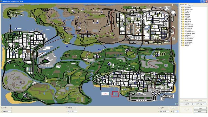 GTA San Andreas Skyrim Flying Island Map MOD Mod - GTAinside.com