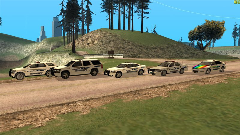Gta San Andreas Red County Sheriff S Pack Mod Gtainside Com