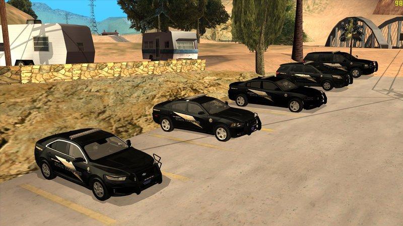 Gta San Andreas San Andreas State Troopers Pack Black