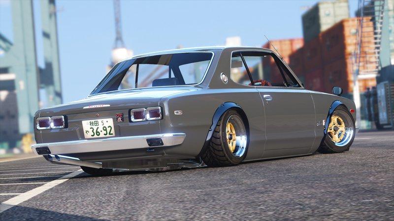 Gta 5 1971 Nissan Skyline Kgc10 Mod Gtainside Com