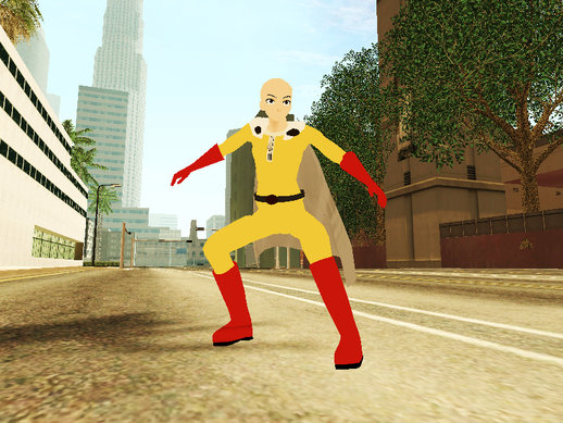 Saitama + Powers (ONE PINCH MAN)