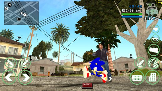Sonic Bike Only Dff For Android